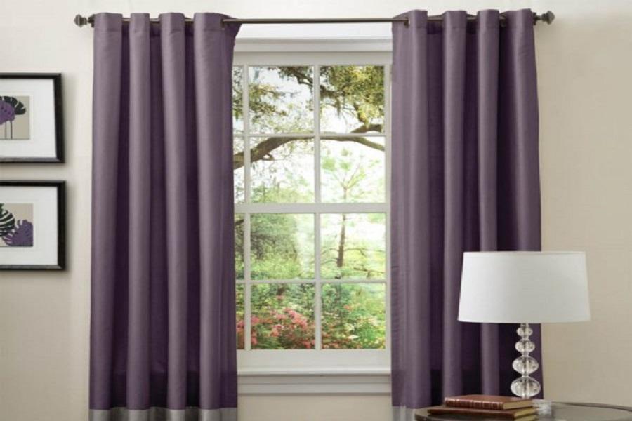5 lưu ý khi mua rèm cửa cho phòng khách