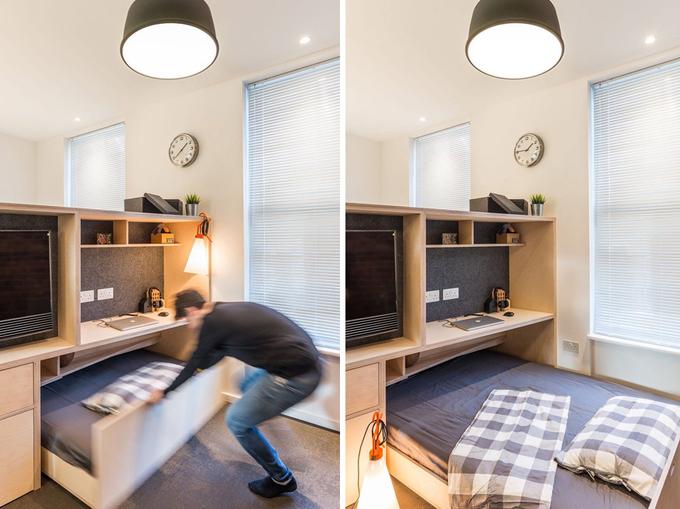 Căn hộ 35 m2 vẫn rộng thoải mái