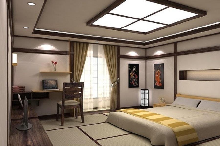 Gợi ý cách thiết kế phòng ngủ mang phong cách Nhật Bản 2