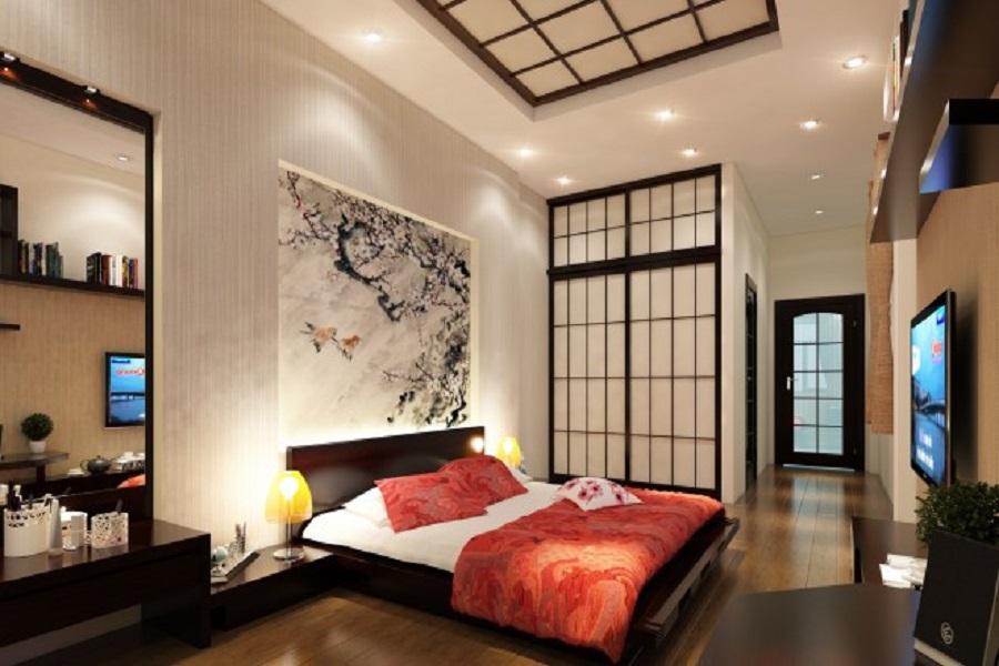Gợi ý cách thiết kế phòng ngủ mang phong cách Nhật Bản 3