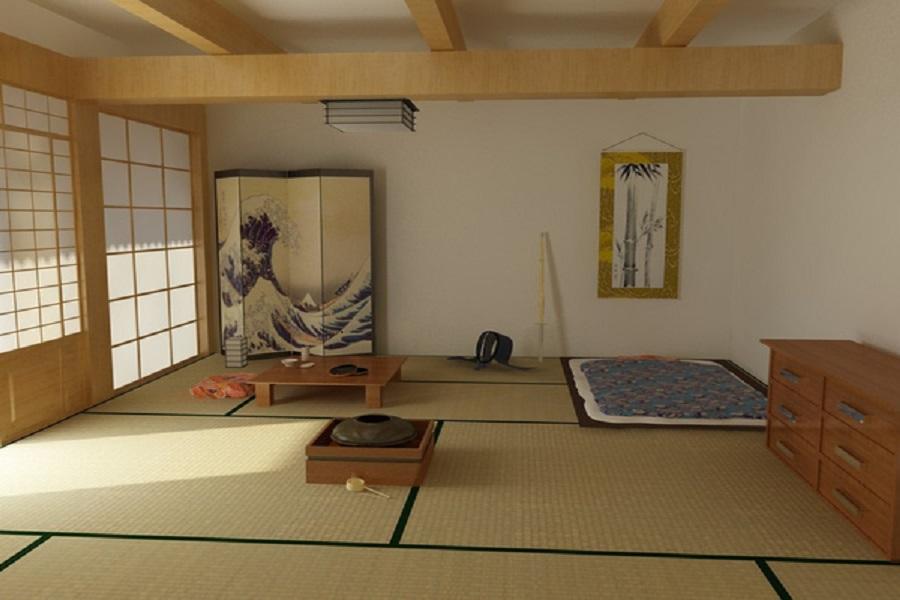 Gợi ý cách thiết kế phòng ngủ mang phong cách Nhật Bản 4