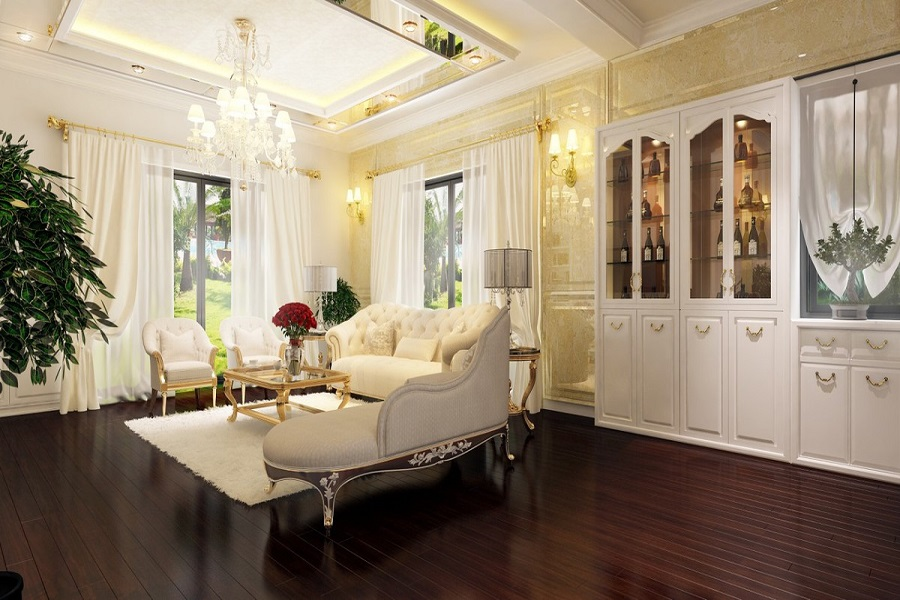 Lóa mắt  với thiết kế nội thất xa xỉ của mẫu biệt thự đẹp ở giới thượng lưu 03