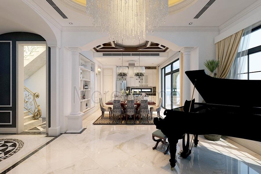 Lóa mắt  với thiết kế nội thất xa xỉ của mẫu biệt thự đẹp ở giới thượng lưu 07