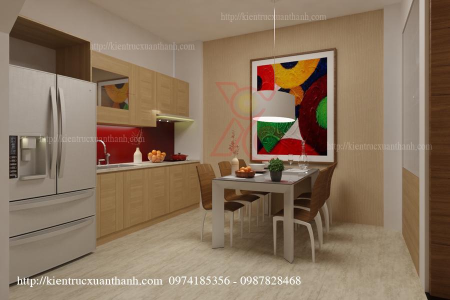 Mẫu thiết kế phòng ăn đẹp