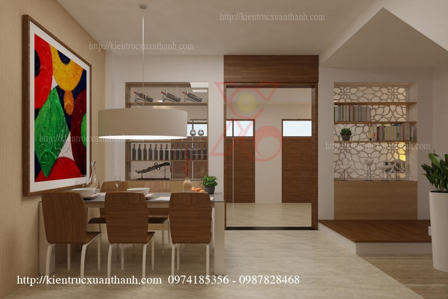 Mẫu thiết kế phòng ăn đẹp 02