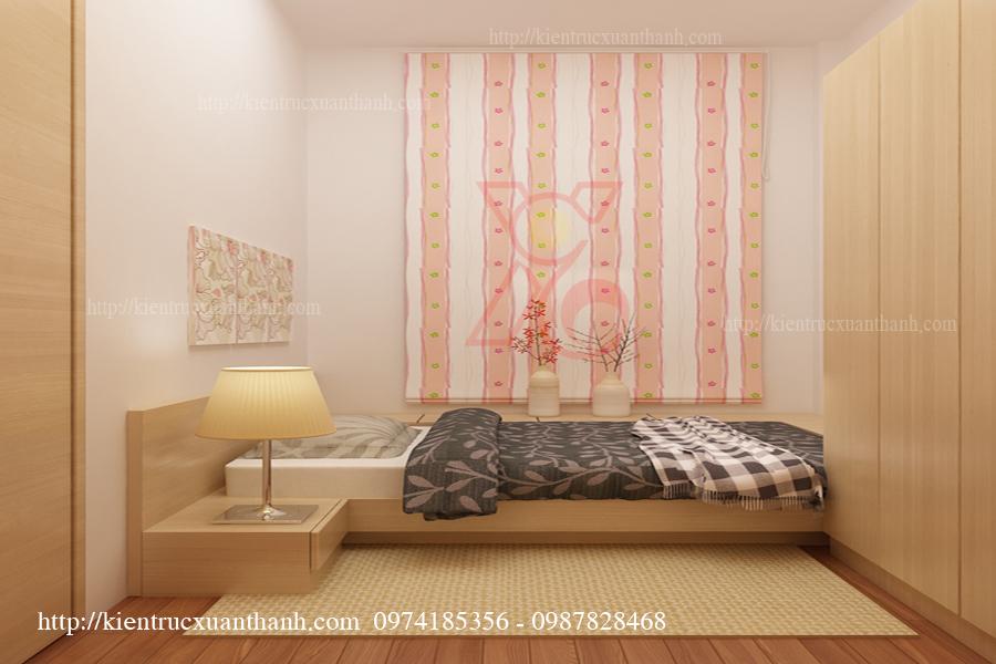 Mẫu thiết kế phòng ngủ cho mẹ anh Triều