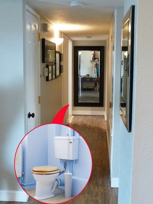 những cấm kỵ khi bố trí nhà vệ sinh