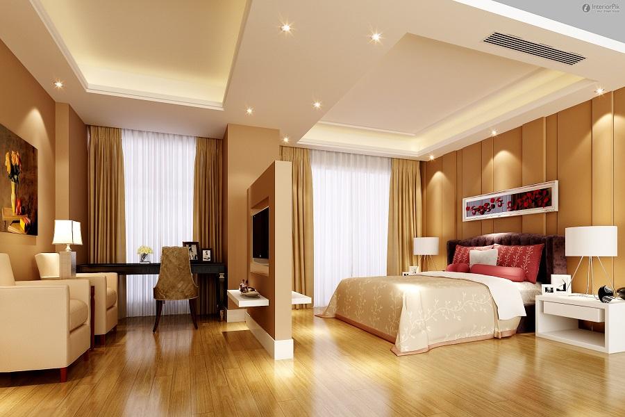 Phòng ngủ nhỏ 1 của mẫu biệt thự 1 tầng đẹp