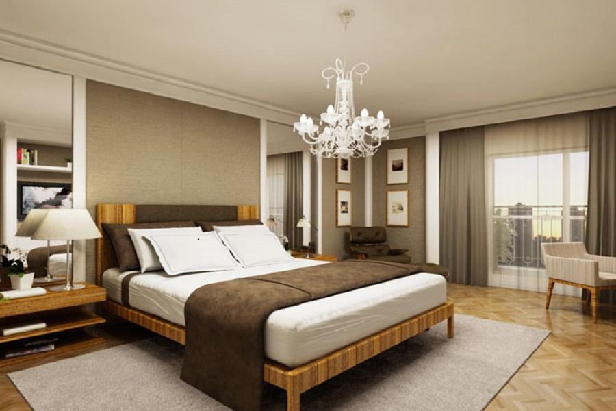 Phòng ngủ nhỏ 2 của mẫu biệt thự 1 tầng đẹp