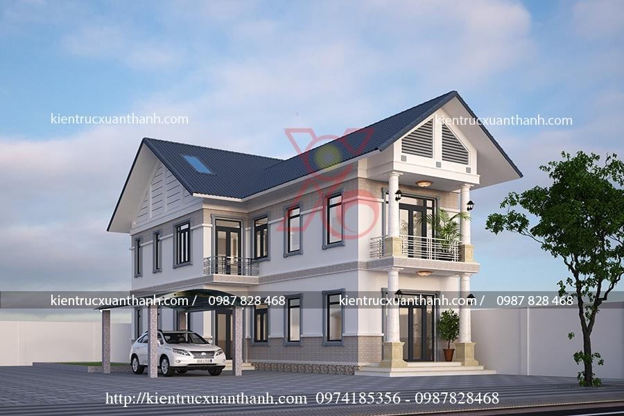 mẫu thiết kế nhà 3 tầng đẹp tại Sơn La