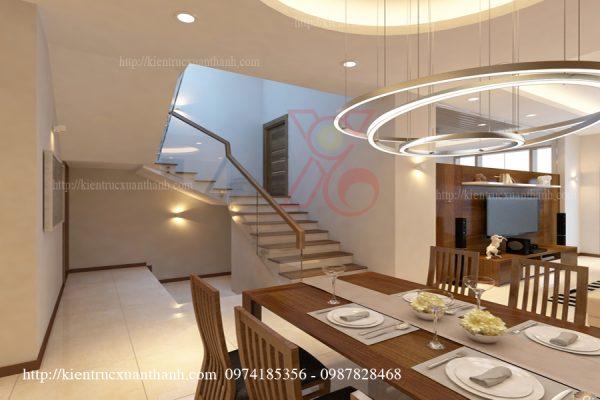 Phòng bếp, Phòng ăn, Cầu thang