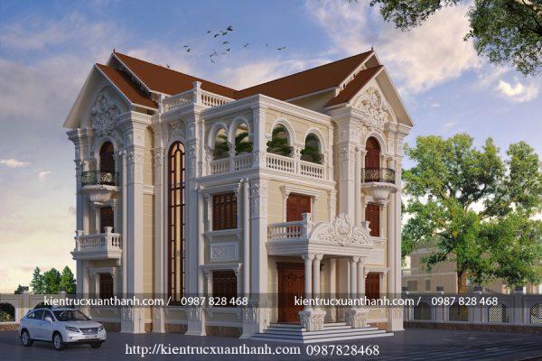 Biệt thự 3 tầng đẹp BT18003 - Ảnh 2