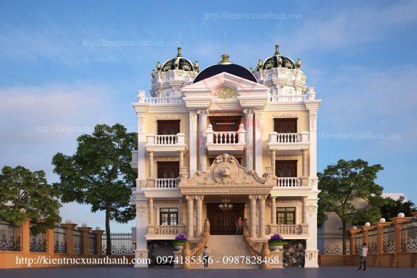 biệt thự cổ điển đẹp BT18148 - Ảnh 1