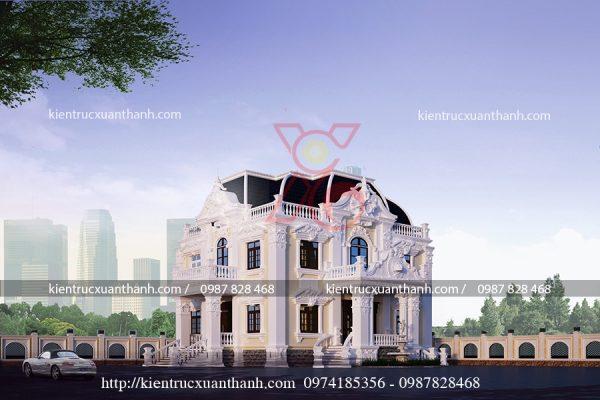 biệt thự cổ điển đẹp BT18236 - Ảnh 3