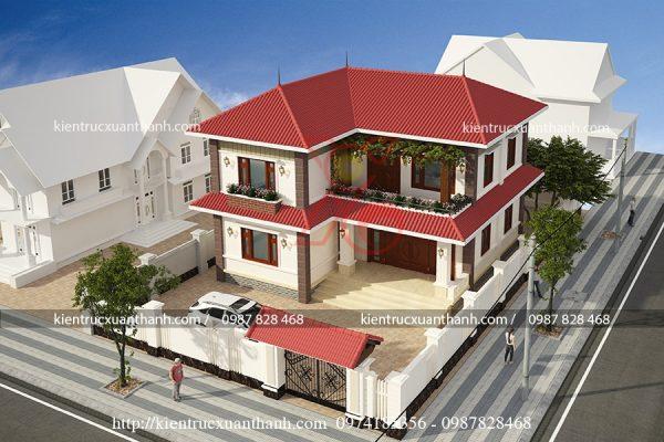 biệt thự đẹp 2 tầng BT18098 - Ảnh 2