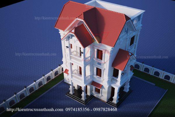 mẫu biệt thự 3 tầng BT18230 - Ảnh 1