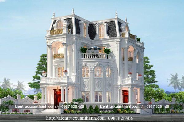 Mẫu biệt thự 3 tầng đẹp BT18466 - Ảnh 3