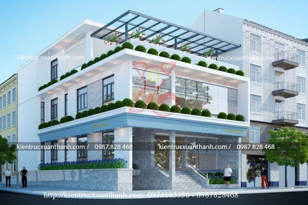 mẫu biệt thự đẹp 3 tầng 2 mặt tiền BT18465.1