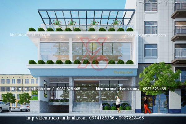 mẫu biệt thự đẹp 3 tầng 2 mặt tiền BT18465.2