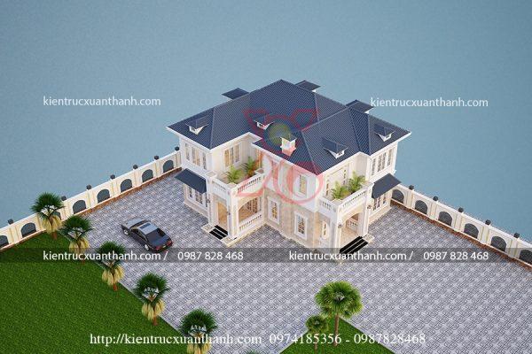 mẫu biệt thự đẹp BT18235 - Ảnh 1