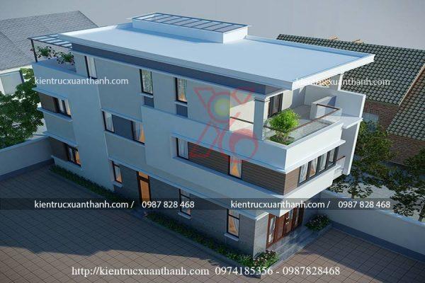 mẫu nhà 3 tầng đẹp BT18302 - Ảnh 2
