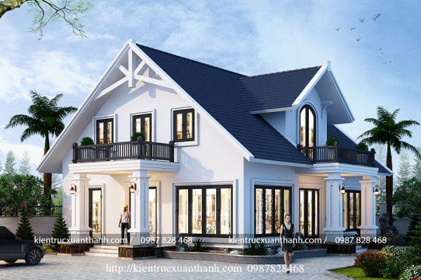 mẫu nhà biệt thự 1 tầng BT18099 - Ảnh 3