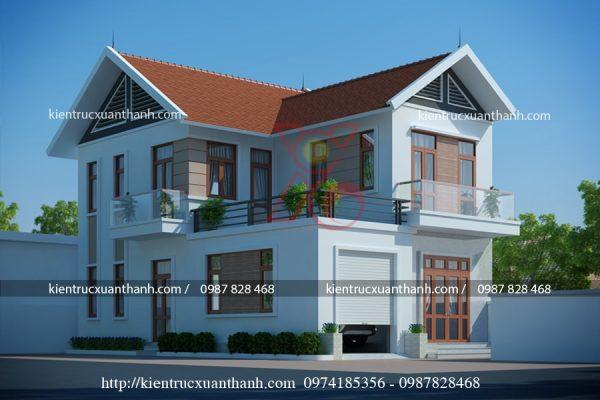 nhà 2 tầng hiện đại BT18259 - Ảnh 1