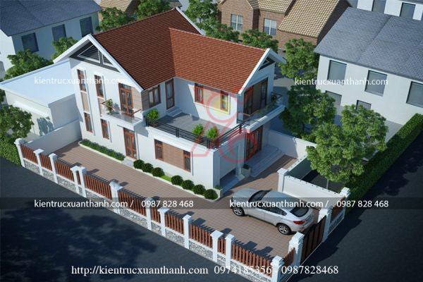 nhà 2 tầng hiện đại BT18259 - Ảnh 2