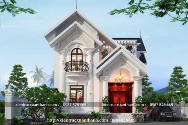 nhà biệt thự 2 tầng đẹp BT18296 - Ảnh 2