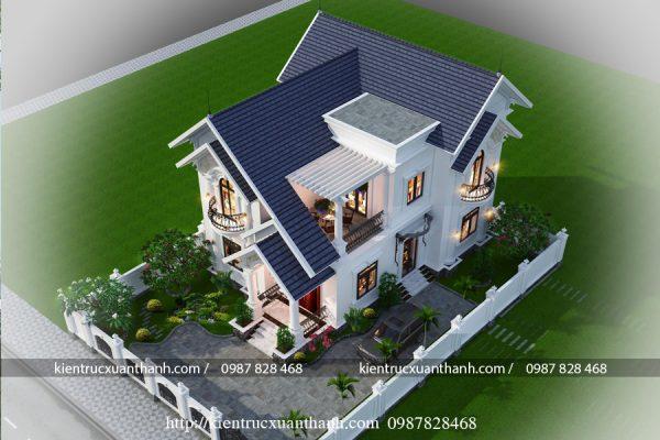 nhà biệt thự 2 tầng đẹp BT18296 - Ảnh 3