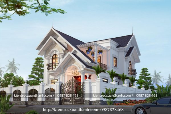 nhà biệt thự 2 tầng đẹp BT18296 - Ảnh 4