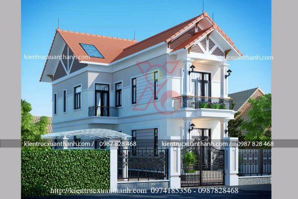 nhà hiện đại 2 tầng BT18255 - Ảnh 1