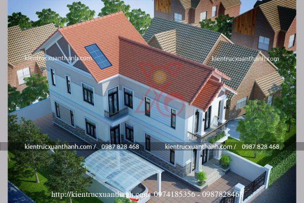 nhà hiện đại 2 tầng BT18255 - Ảnh 2