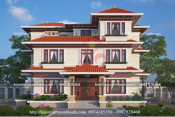 thiết kế biệt thự 3 tầng đẹp BT18145 - Ảnh 3