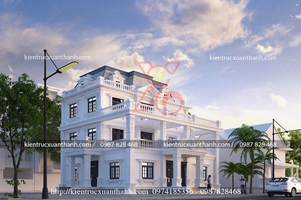 thiết kế biệt thự 3 tầng đẹp BT18197 - Ảnh 1