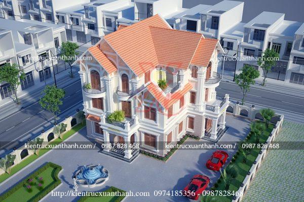 thiết kế biệt thự 3 tầng đẹp BT18305 - Ảnh 4