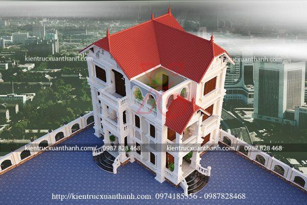 thiết kế biệt thự 3 tầng đẹp BT18210 - Ảnh 2