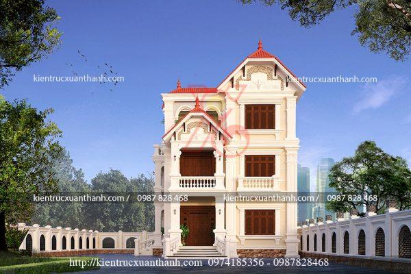 thiết kế biệt thự 3 tầng đẹp BT18210 - Ảnh 3