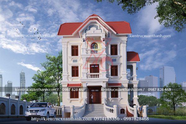 thiết kế biệt thự 3 tầng đẹp BT18226 - Ảnh 2