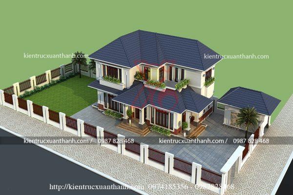 thiết kế nhà 2 tầng đẹp BT18247 - Ảnh 4