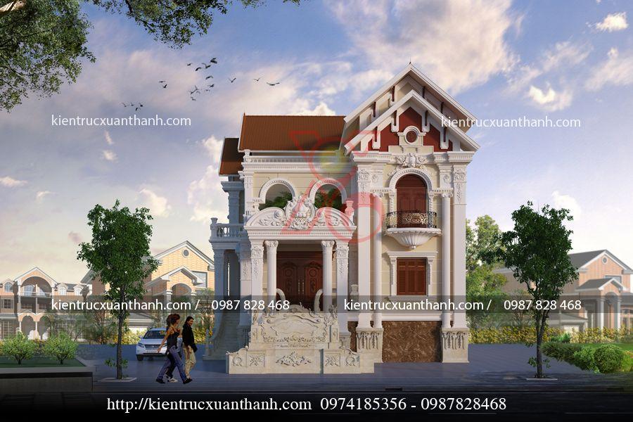 biệt thự 2 tầng tân cổ điển 18273.01