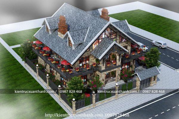 Biệt thự vườn 2 tầng kết hợp quán cafe 274 - Ảnh 4