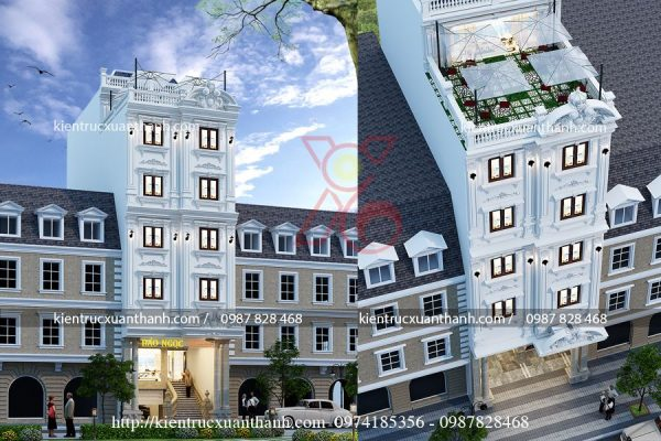 mẫu khách sạn 3 stars đẹp BT18303 - Ảnh 1