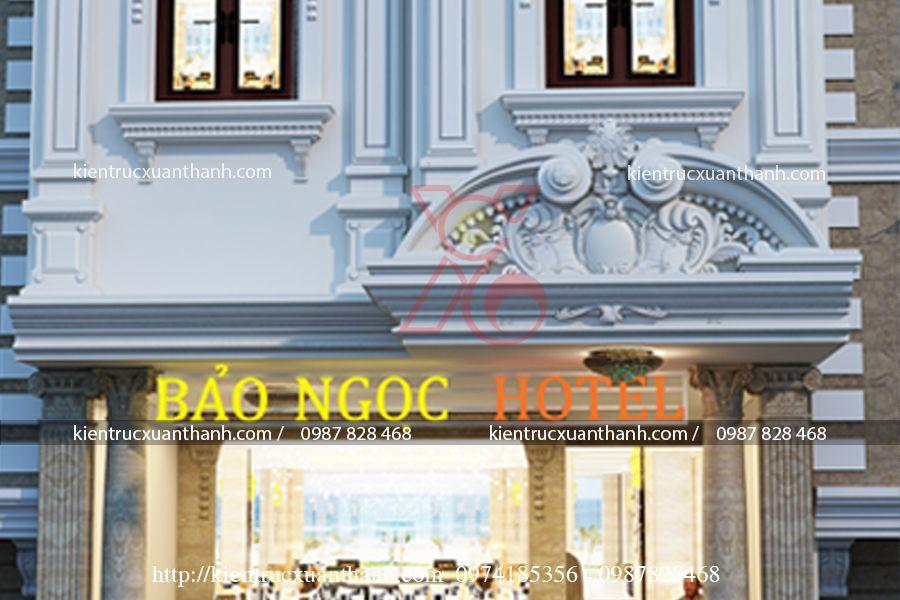 mẫu khách sạn 3 stars đẹp BT18303 - Ảnh 2