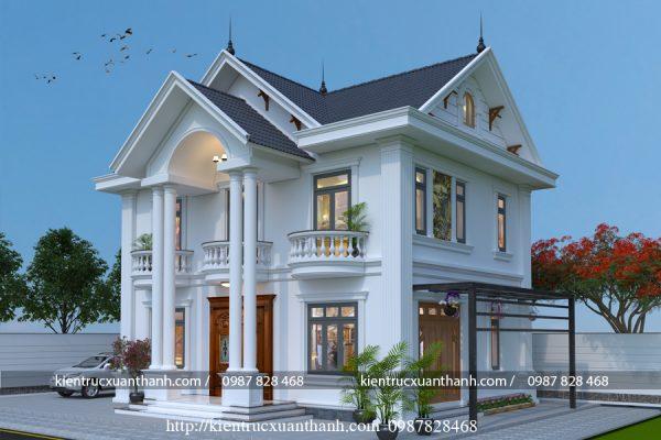 Mẫu nhà 2 tầng mái thái BT18327 - Ảnh 3