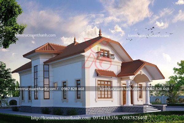 mẫu nhà biệt thự 1 tầng BT18227 - Ảnh 2
