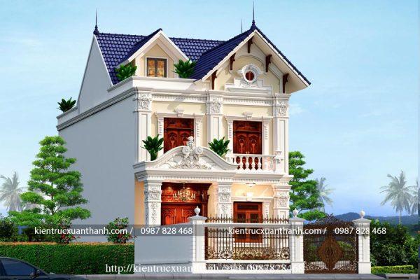 mẫu nhà biệt thự 2 tầng BT18282 - Ảnh 2