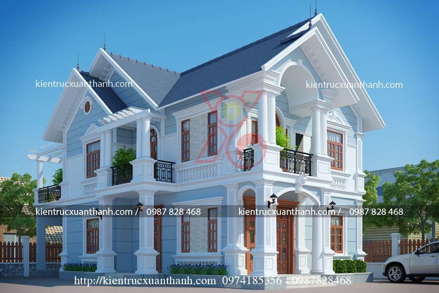 mẫu nhà đẹp 2 tầng BT18288 - Ảnh 1