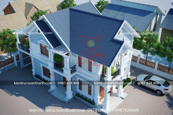 mẫu nhà đẹp 2 tầng BT18288 - Ảnh 2