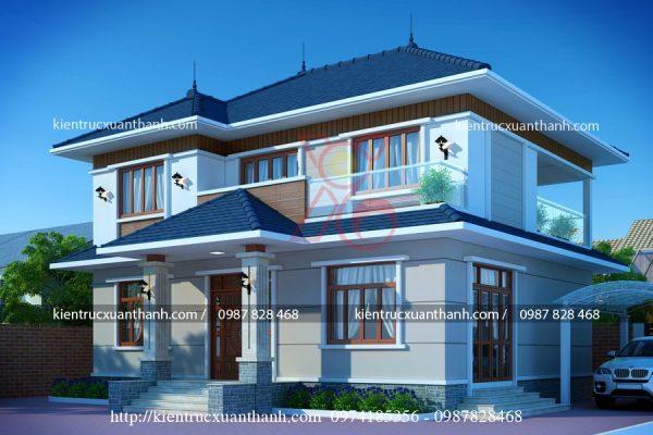 nhà biệt thự 2 tầng BT18295 - Ảnh 1